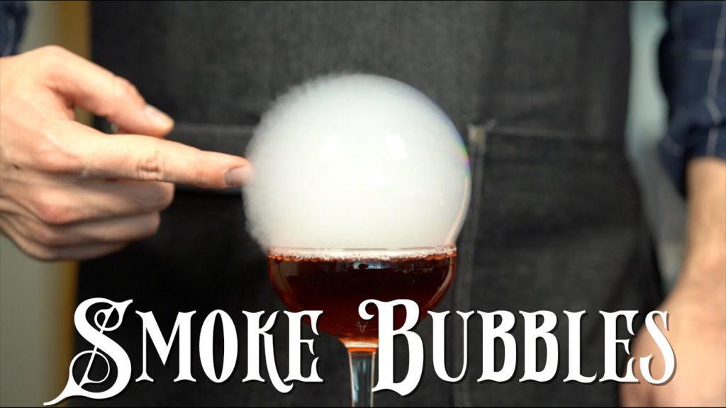 Advanced Techniques - Cocktail Smoke Bubbles