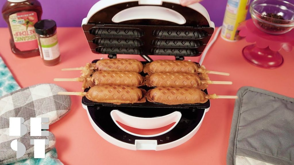 Corn Dogs Anytime, Anywhere With This Corn Dog Maker | Best Products