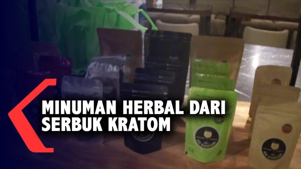 Ditetapkan Legal, Berbagai Olahan Kratom Muncul, termasuk Minuman Herbal
