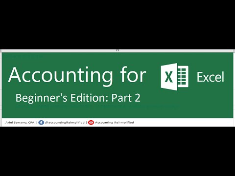 Excel for Beginners - Part 2