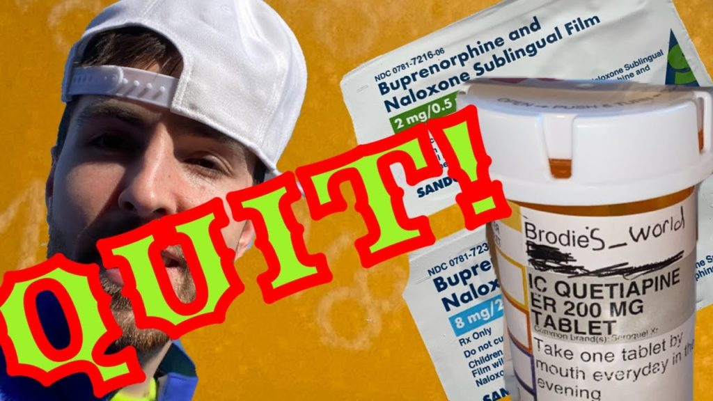 How To Quit Suboxone & Anti Depressants Taper Check In 4!