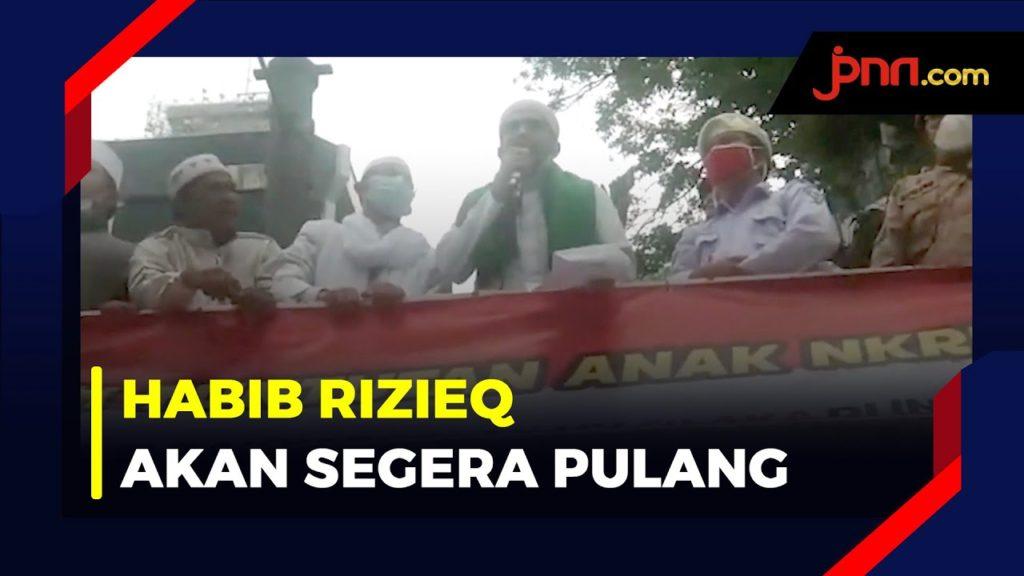 Ketum FPI: Alhamdulillah Habib Rizieq akan Segera Pulang