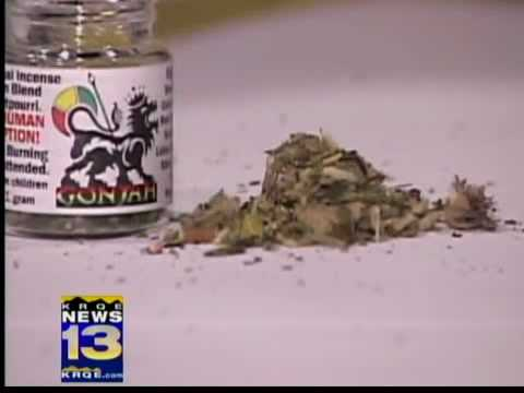 Students get high on new legal herb