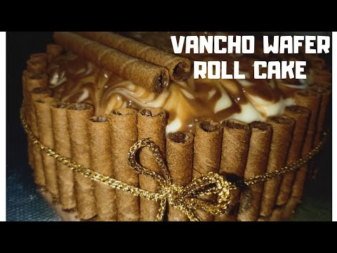VANCHO WAFER ROLL CAKE, Without OVEN/1kg vancho cake/How to make Vancho cake without oven